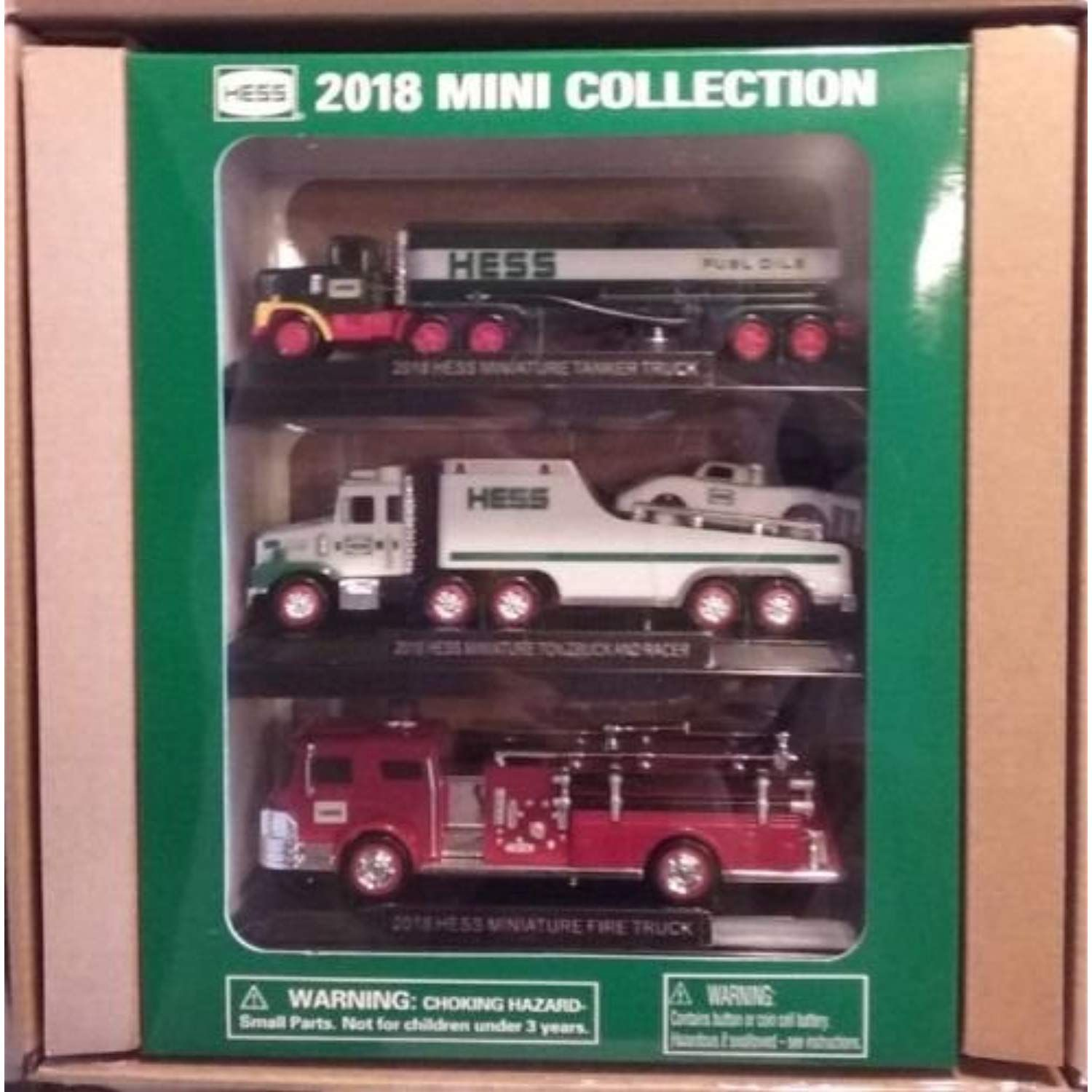 Hess 2018 Mini Truck Collection New