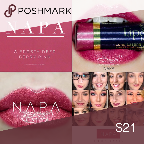 Napa LipSense! Authentic and brand new! Napa LipSense up for grabs! I'm a LipSense distributor who is going out of business because I no longer have time to be a LipSense pusher! :) All products are authentic and brand new. LipSense Makeup Lipstick