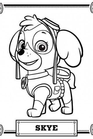 Gallery For > Paw Patrol Coloring Page | Paw Patrol | Pinterest ...