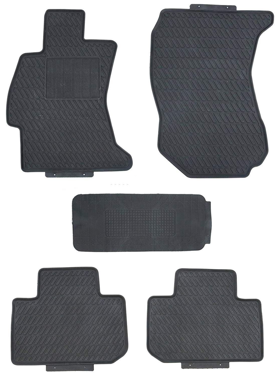 Tmb Motorsports Floor Mats For 2014 2018 Subaru Forester Custom Black Rubber All Weather Read More Reviews Of The Product Subaru Forester Subaru Floor Mats