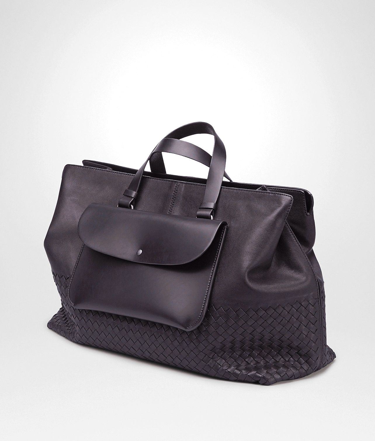 c5814b0c6db9 NERO INTRECCIATO NAPA LAVATA TOTE BAG - Men s Bottega Veneta Tote Bag -  Shop at the Official Online Store  bagsandpurses