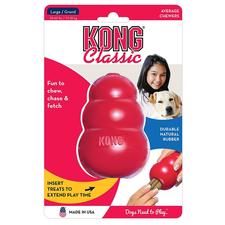 Pet Supplies Pet Chew Toys KONG CLASSIC LARGE Rubber