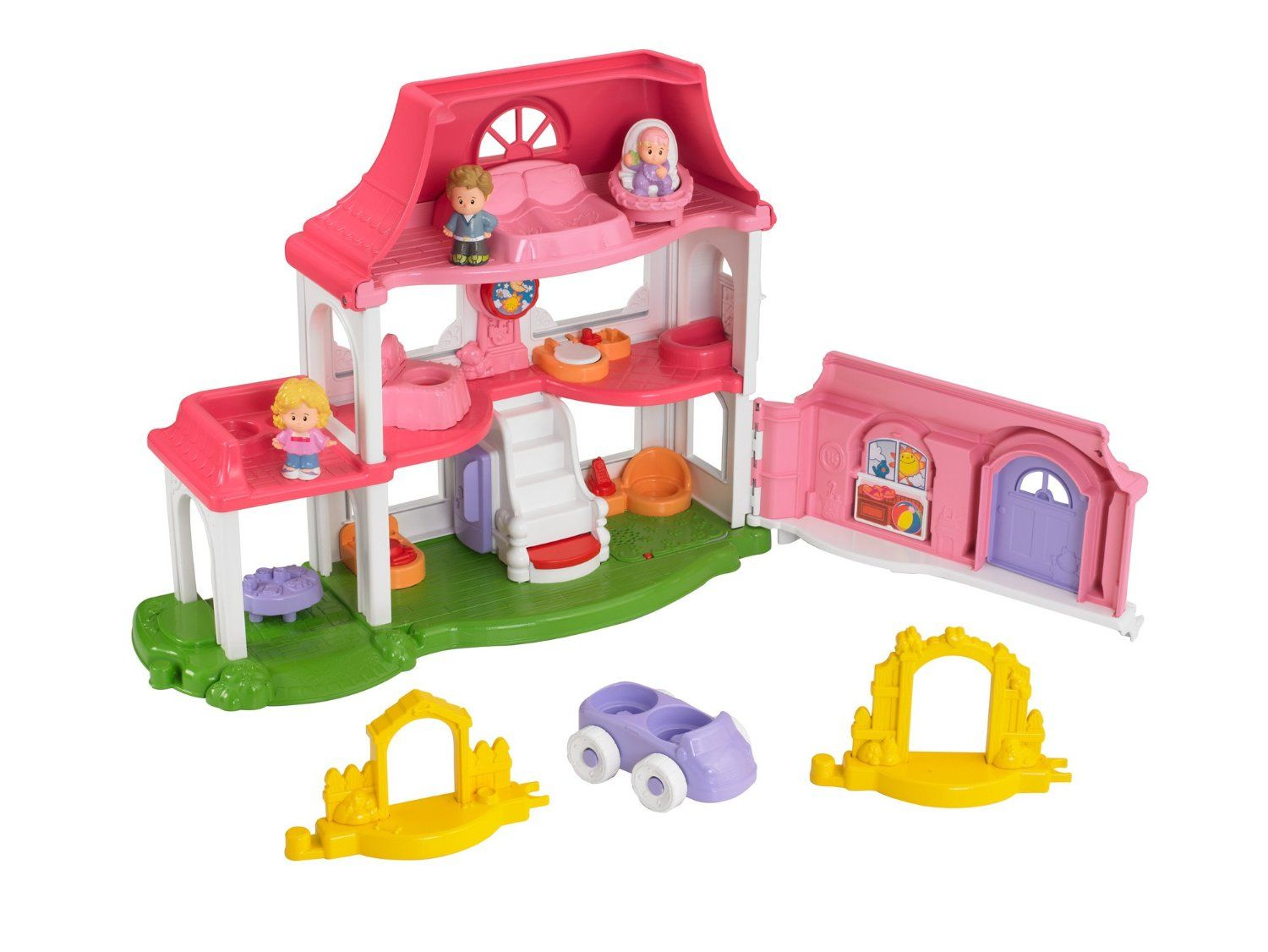 fisher price little people happy sounds home y3678 babynkidmall pinterest fisher price. Black Bedroom Furniture Sets. Home Design Ideas
