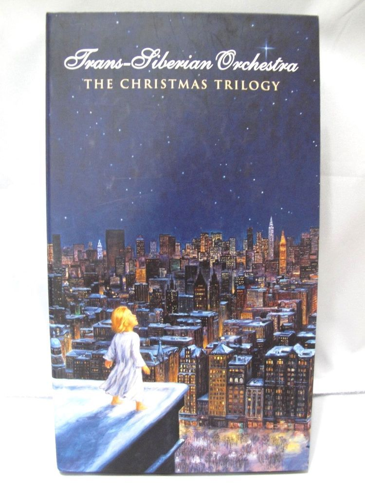 TRANS-SIBERIAN ORCHESTRA The Christmas Trilogy Set 3 CDs 1 DVD ...