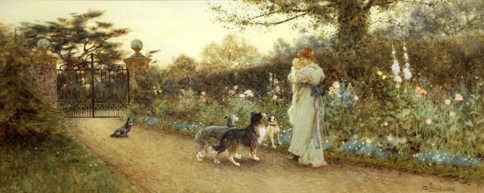 Английский художник Thomas James Lloyd (1849-1910). Обсуждение на LiveInternet - Российский Сервис Онлайн-Дневников
