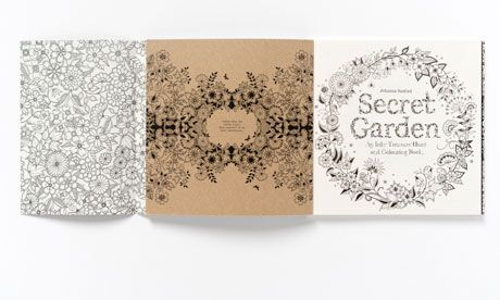 Secret Garden By Johanna Basford Review At The Guardian Free Downloadable Coloring Pages