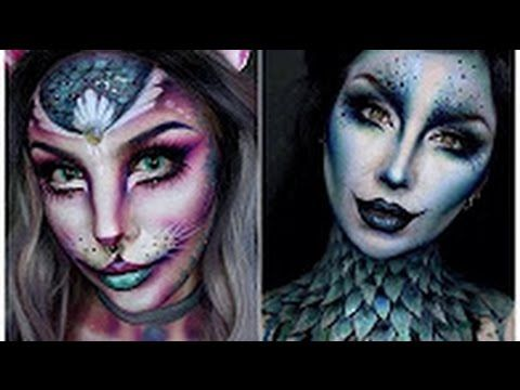 top 15 easy halloween makeup tutorials compilation 2016 2