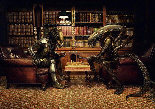 Pin de darkerpsy em UNIVERSALIEN   Alien vs predator