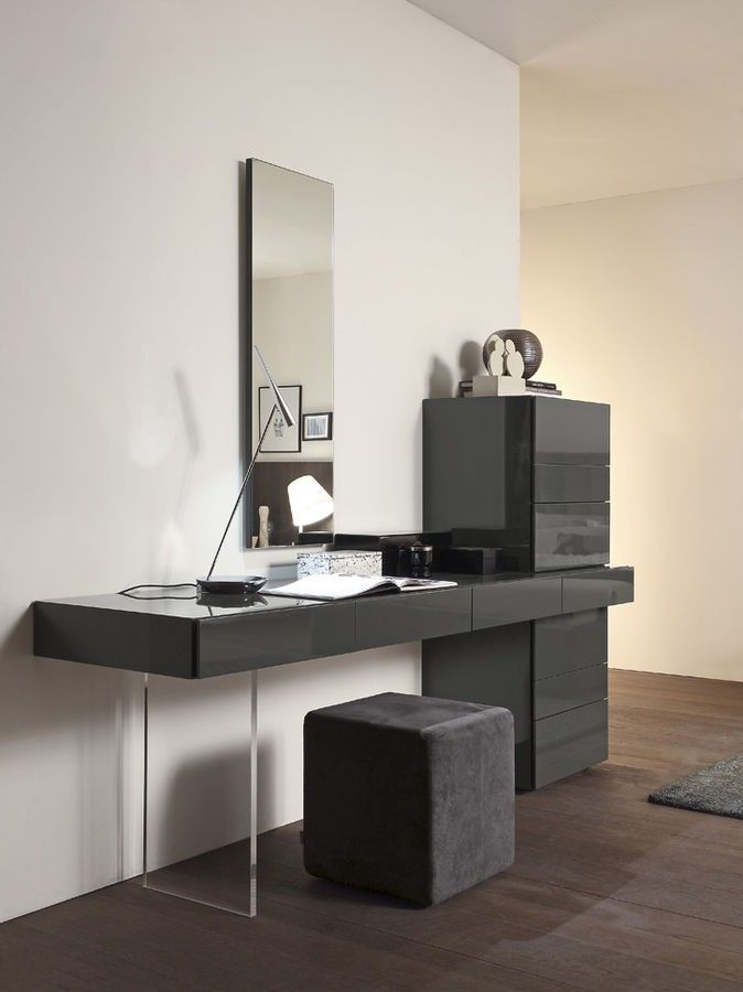 Swing Console Unit With Drawers Presotto Italy Contemporary Dressing Tables Dressing Table Design Modern Vanity Table