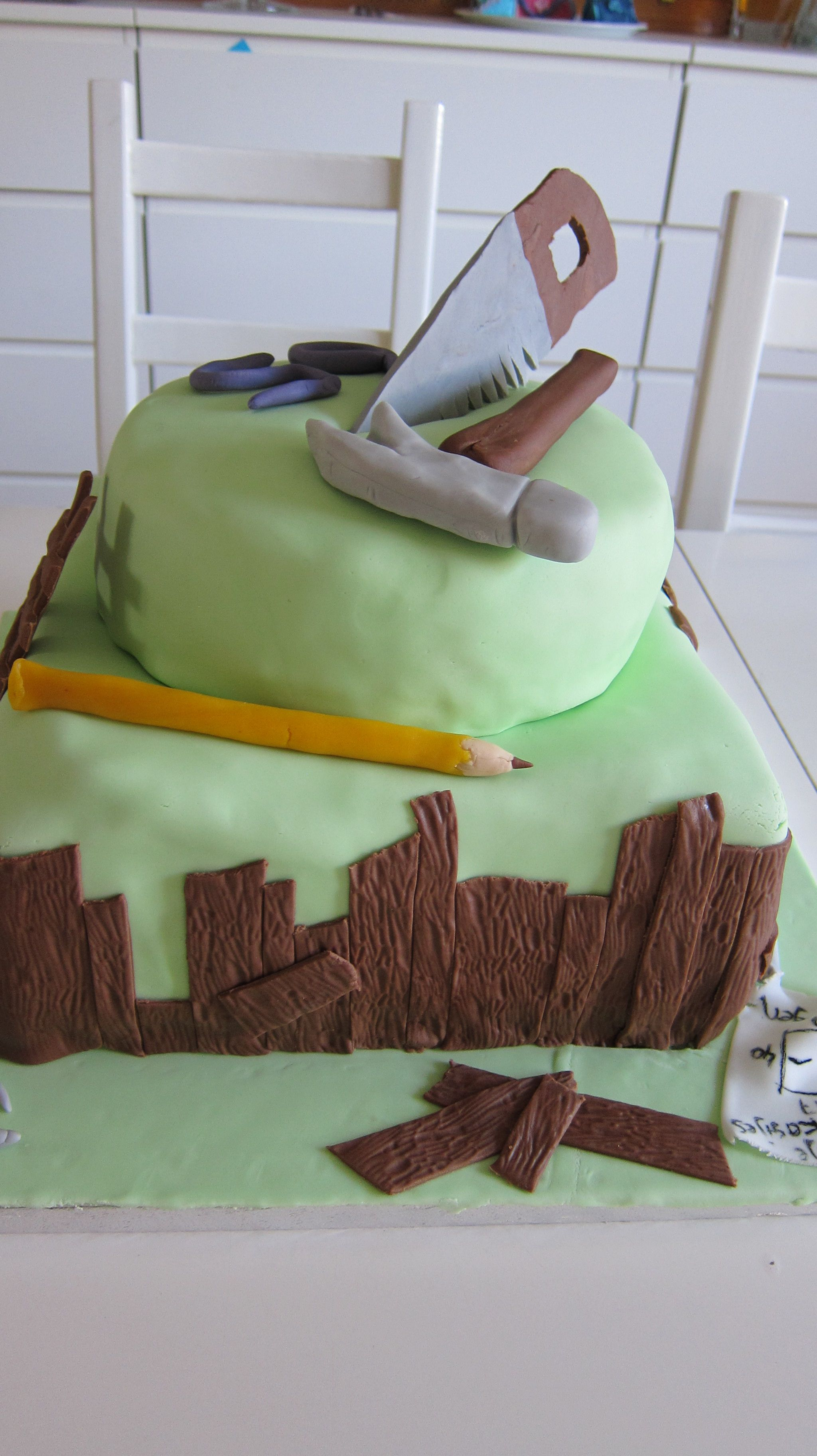 Handy man cake Birthday cakes Pinterest Cakes Handy man