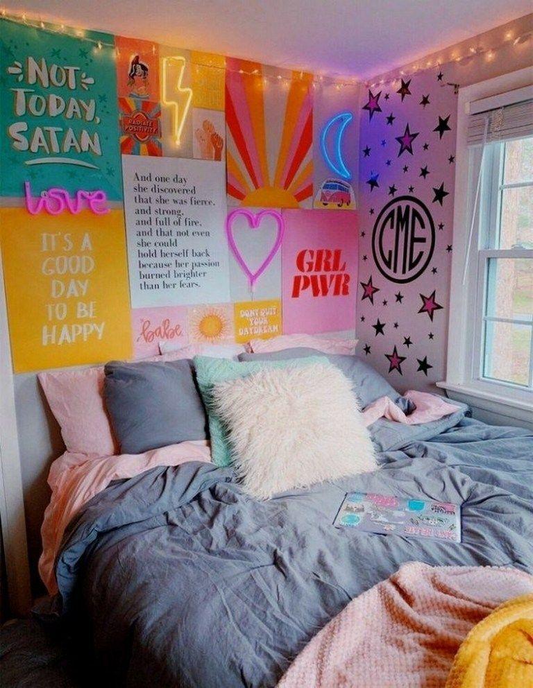23+ Cute Dorm Room Decorating Ideas on A Budget cutedormrooms dormroomsdecor dor… Young room