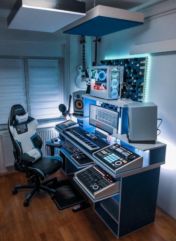 11 Home Music Studio Ideas in 11  music studio, home music