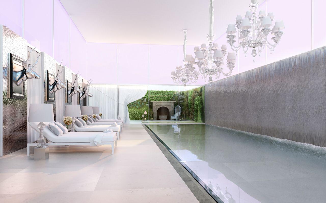 Starck yoo pool green space revealed retail space for Yoo design hotel