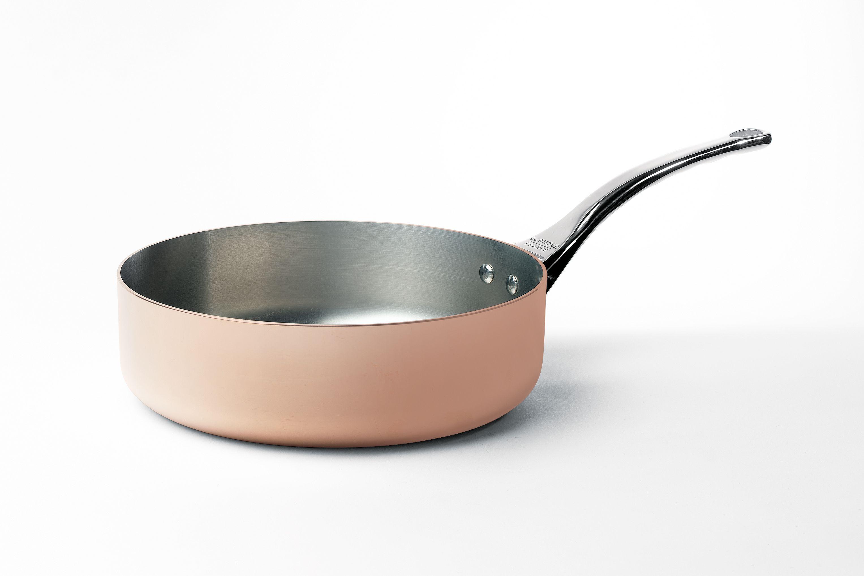 Sauteuse en cuivre De Buyer intérieur inox patible induction