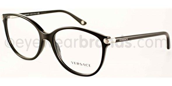 15c131d29e Versace VE 3169 Versace VE3169 GB1 Black Versace Glasses