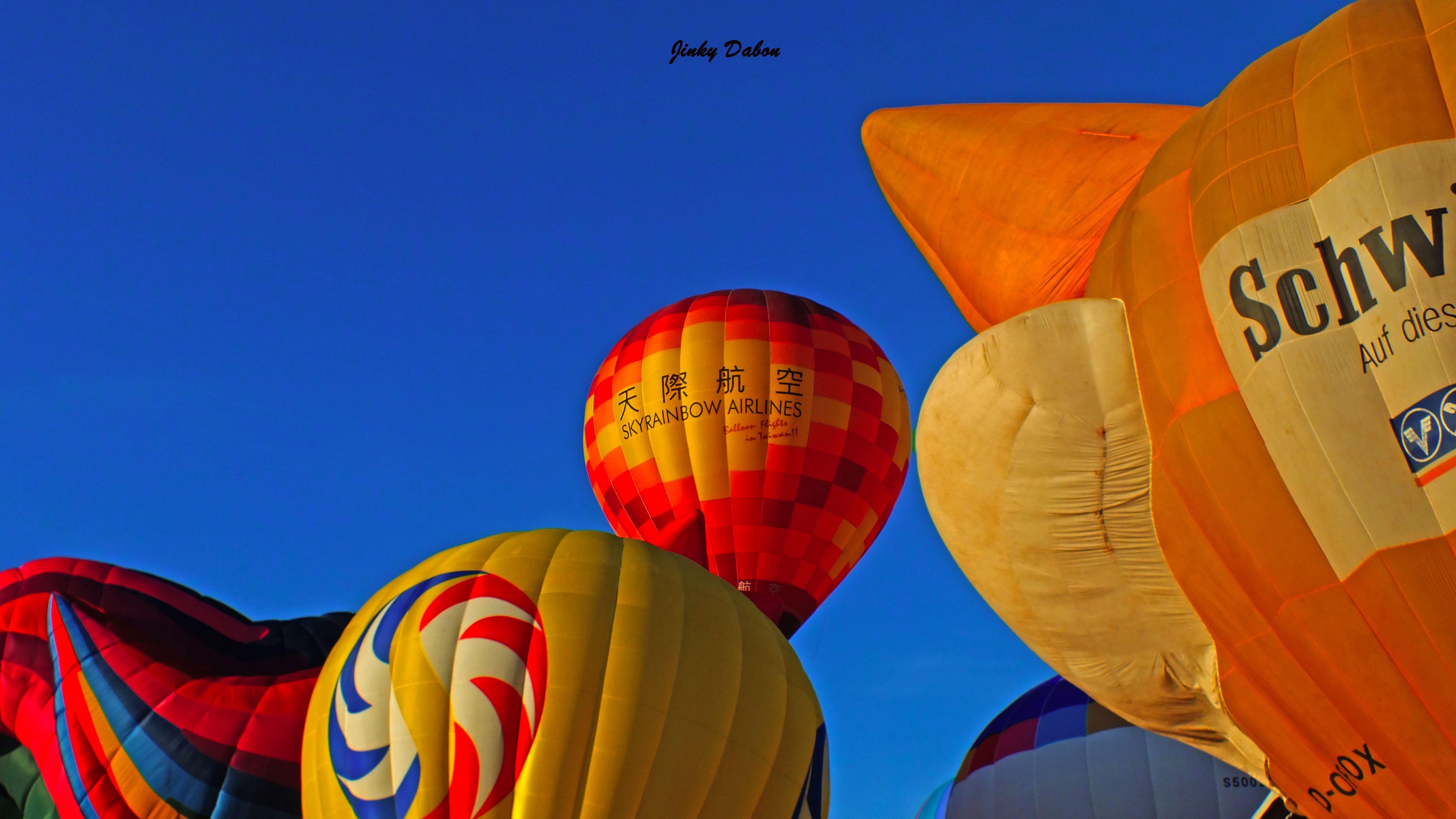 hot air balloon festival at Subic