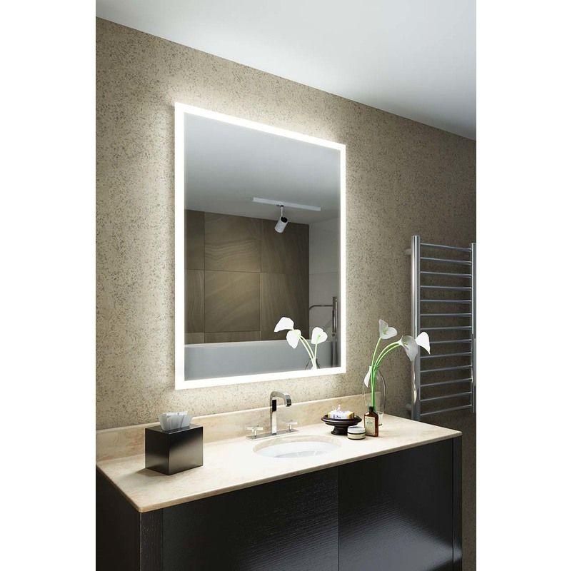 Miroir Rgb Rasoir Audio Avec Bluetooth Anti Buee Capteur K1418iv Multi Couleuraud Miroir Salle De Bain Led Miroir Lumineux Led Et Led Salle De Bain