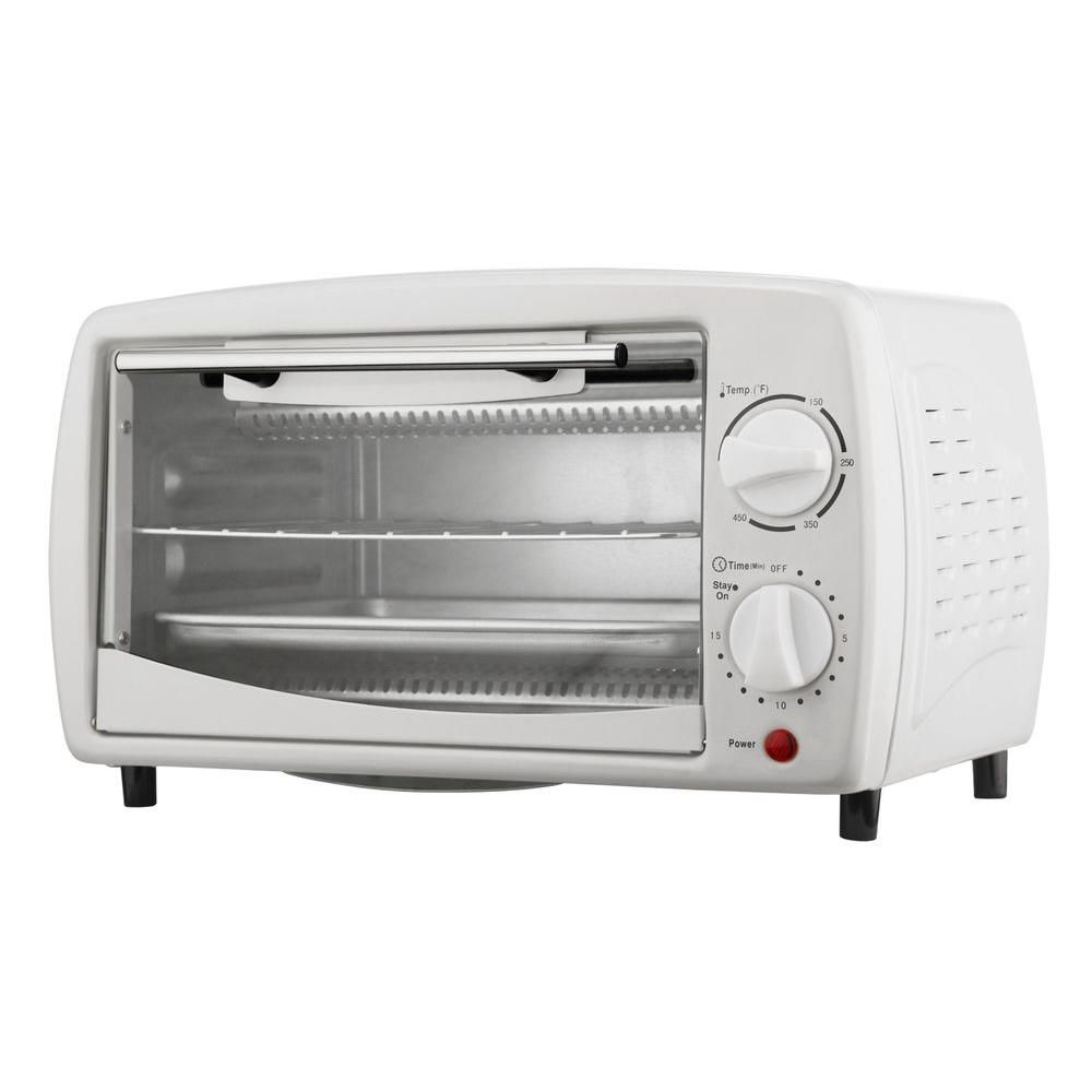 4 Slice Toaster Oven White With Images White Toaster Toaster Oven Toaster