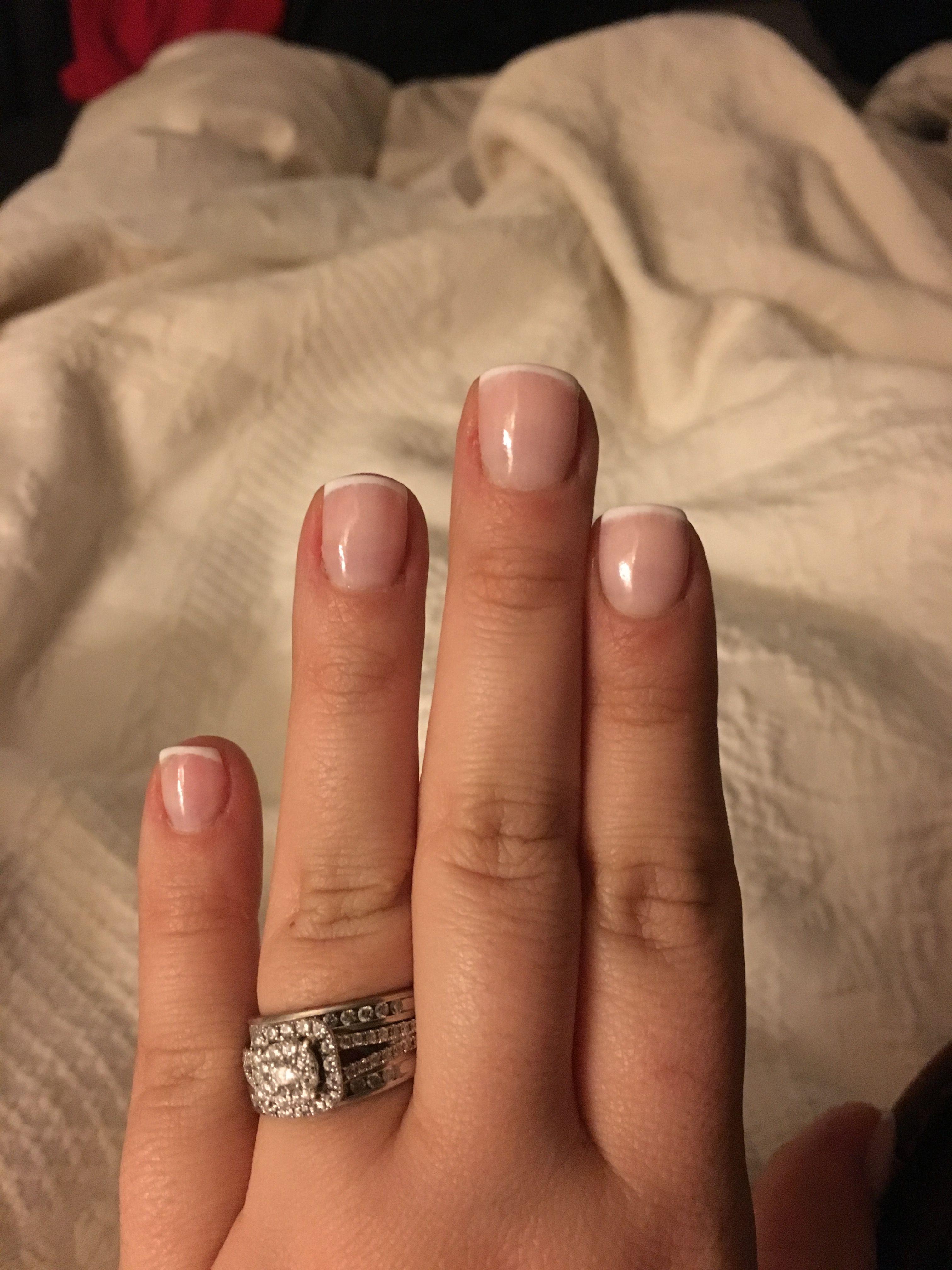 Dipping powder aka Healthy nails on top of my natural nails. Colors ...