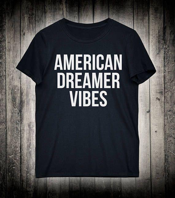 American Dreamer Vibes Merica Dream Shirt Slogan Tee Vacation Gift Shirt Surfing Pool Beach Party T-shirt
