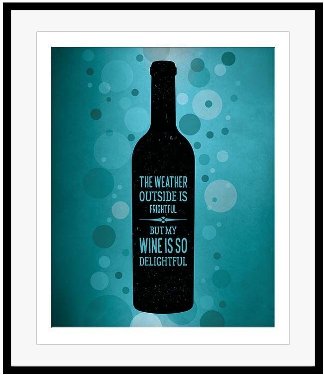SONG LYRIC WINE PARODY Poster Quote Saying Print Wine Lover Gift ...