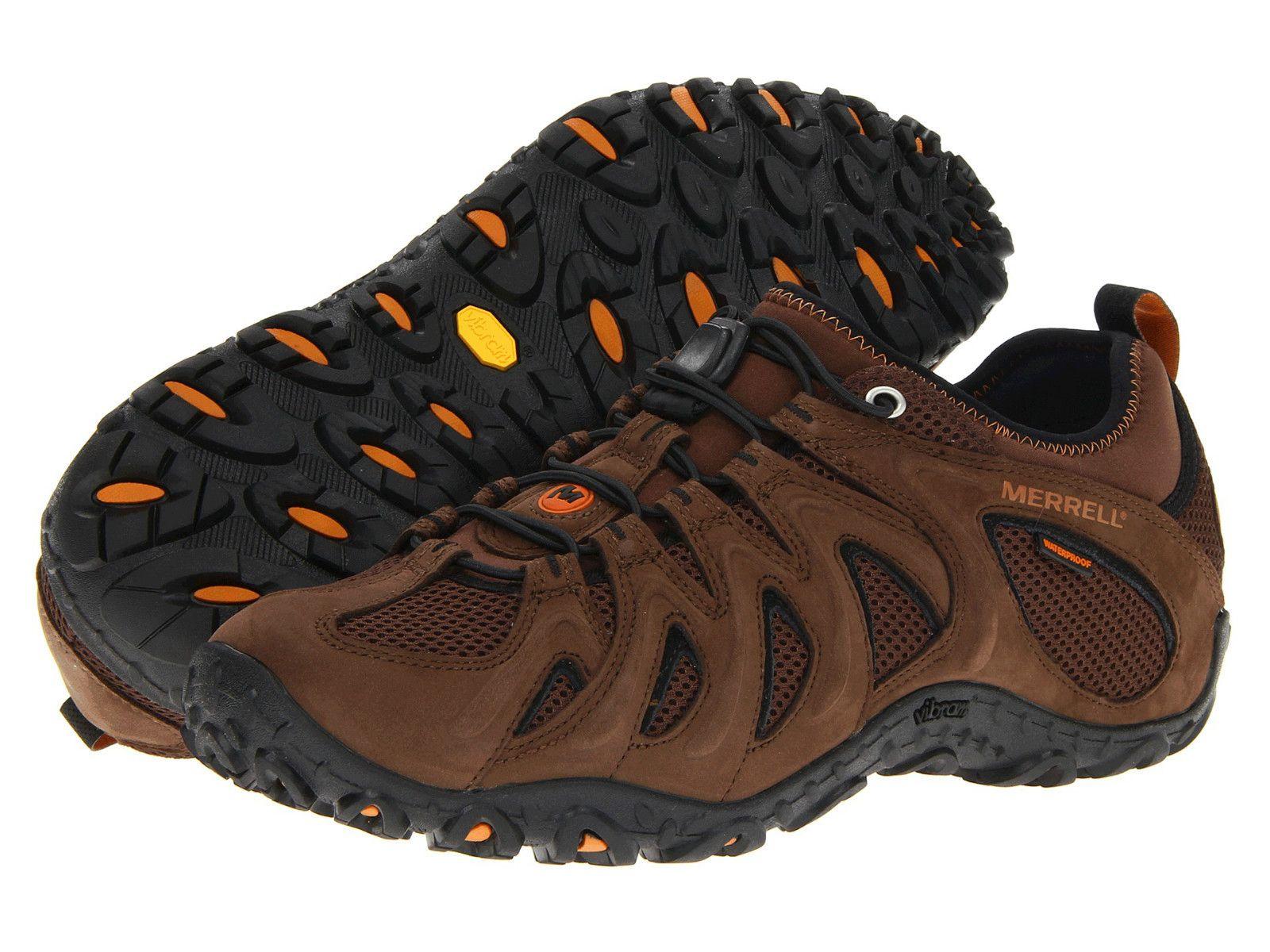 cf53e9b1cf1 Merrell Chameleon 4 Stretch Waterproof Boulder Black Slate Boot J39911