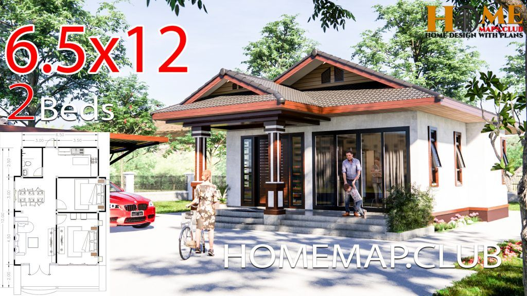 House Plans 16 7x9 5 With 3 Bedrooms Hip Roof House Plans Hip Roof Small House Design Plans