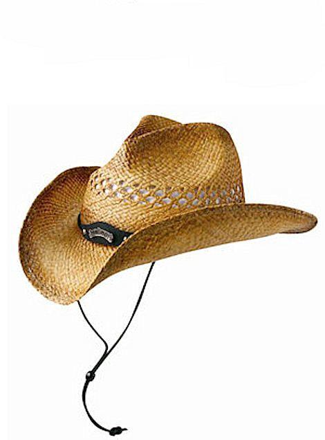 JACK DANIELS Soft Raffia Straw Hat JD03-59 Natural Toast, $54.00
