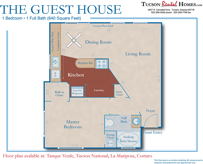 Tucson Rental Homes - Guest House | Renting a house, House ...