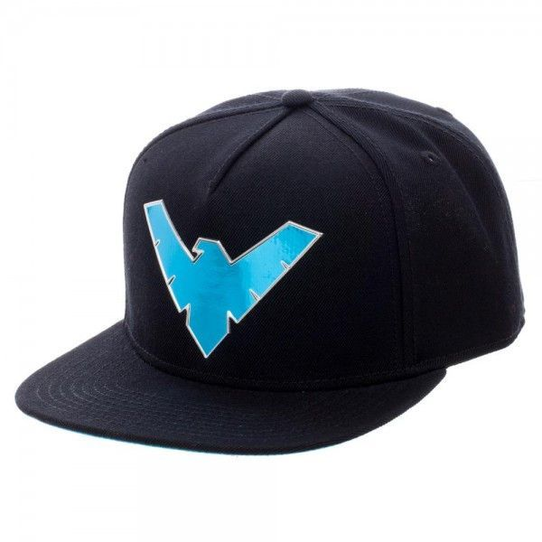 ... for sale is the Brand New DC Comics Nightwing Chrome Weld Snapback 68ee9f550555