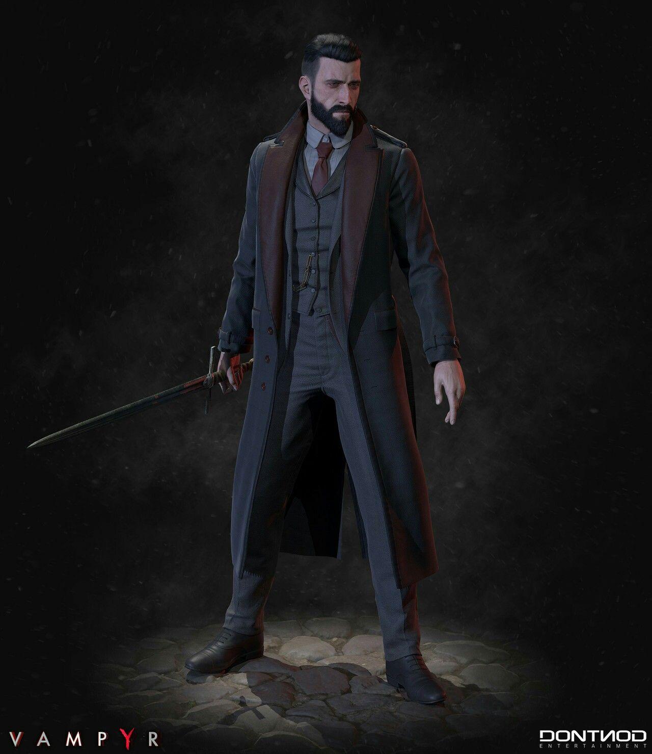 VampYr Fantasy heroes, Superhero characters, Leon s kennedy