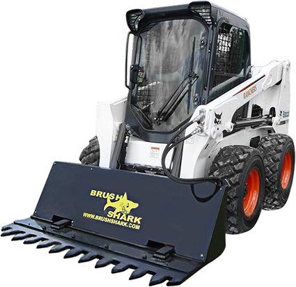 Pin by Brushshark on Tree Shear | Skid steer attachments