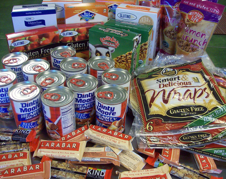Gluten free emergency food Emergency food, Emergency