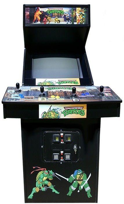 Turtle Bits: TMNT Hit Wall Street, Original Arcade Game