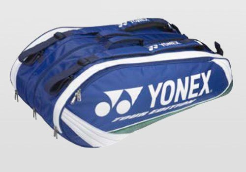Yonex 2010 Pro Series Blue 9 Pack By Yonex 65 00 The Yonex Pro 6 Racquet Bag Is Made Of Durable Material And Holds Racquet Bag Badminton Kit Badminton Sport