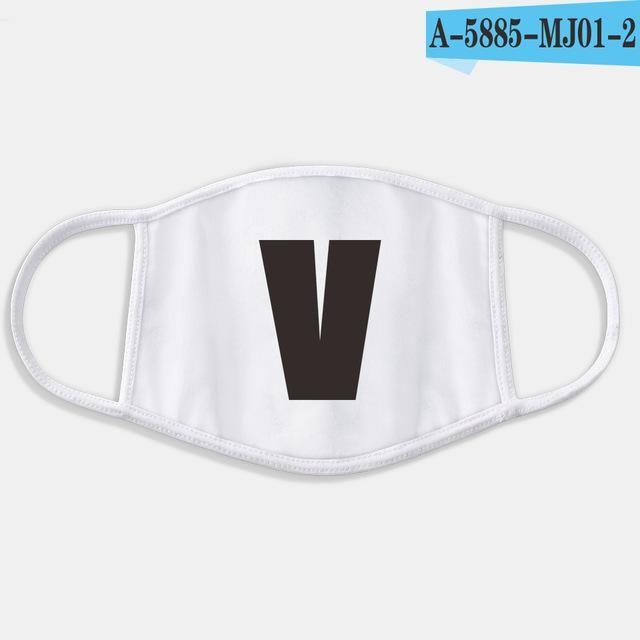 maschera antipolvere bts