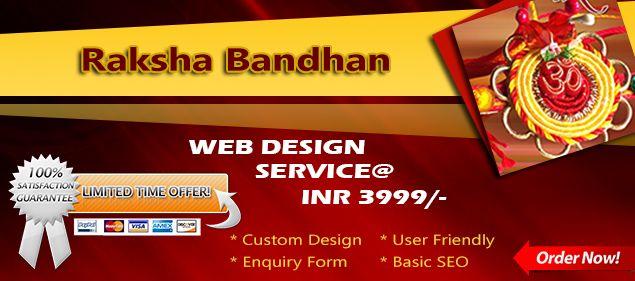 3webcraft Raksha Bandhan special offer for your personal and