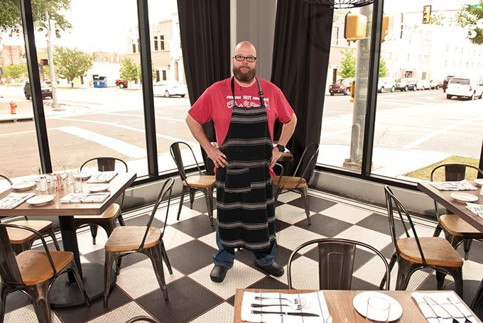 Packard S New American Kitchen Chef Chris Mckenna In The
