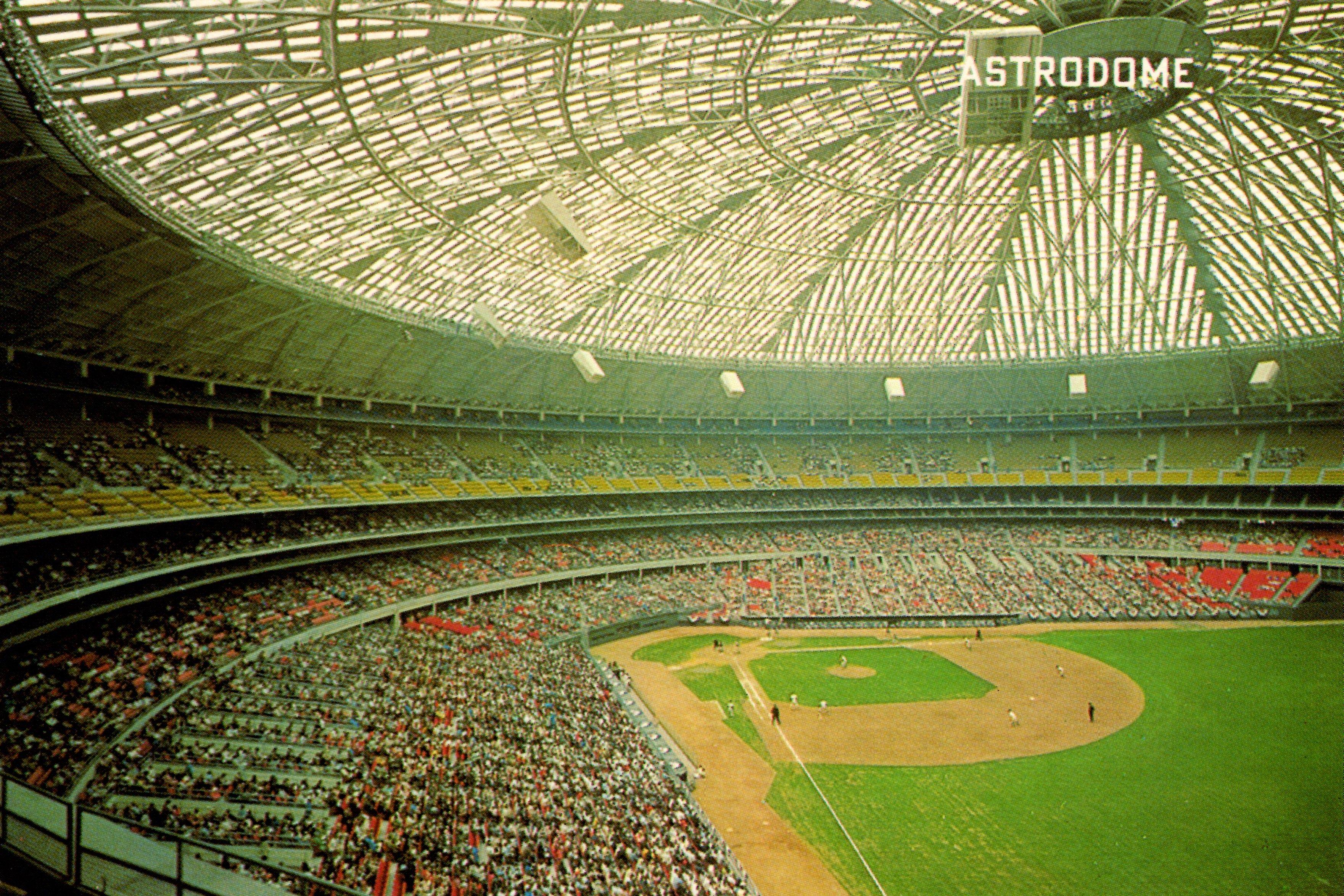 My Collection Deckle Ac 43 A 1967 Astrocard Mlb Stadiums Baseball Stadium City Photo