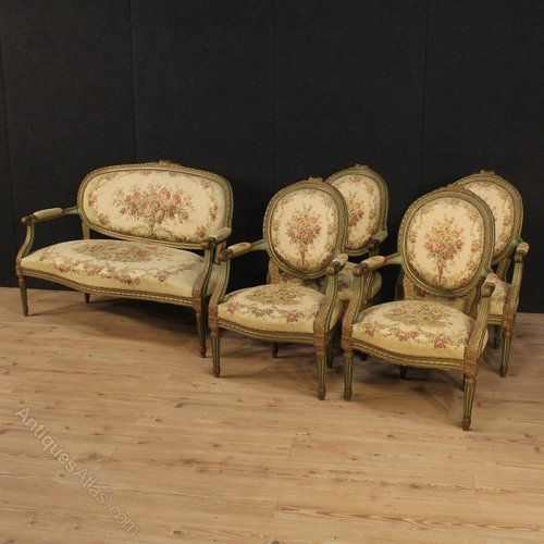 20th Century French Sofa In Louis XVI Style - Antiques Atlas