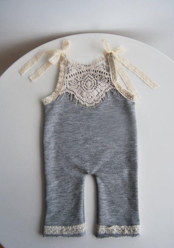 Newborn Romper, Newborn Pants with suspender, Newborn Overall, Girl ...