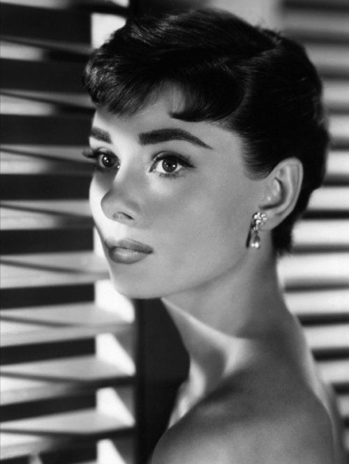 THE STUDIO COMMISSARY  -  Header picture of Audrey Hepburn for 7-31-2015 for theme week 7-27 to 8-2-2015:  Ready for a Close Up