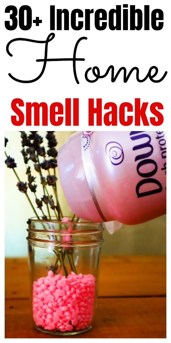 Smell hacks, tips, and tricks that will make your home smell good. #homesmells #smellhacks #cleaninghacks #householdhacks #cleaningtips #householdtips