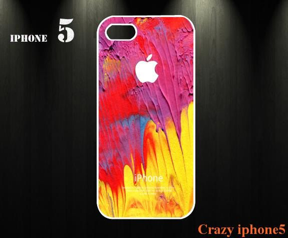 Colourful iphone 5 case  iphone 5 cover  iphone case iphone accessory  for iphone 4 case / iphone 4s case(custom iphone case). $11.99, via Etsy.