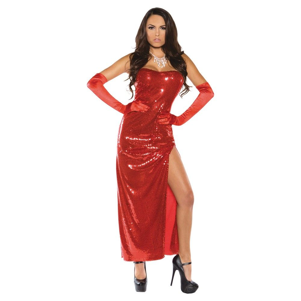 Women's Bombshell Costume - Large, Red