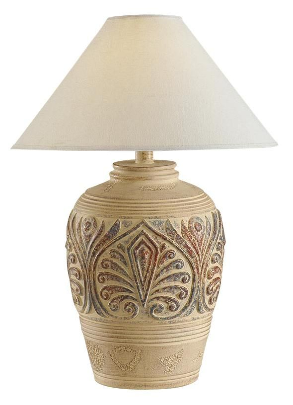 Southwest Tan Leaf Design Table Lamp H1301 Lamps Plus In 2021 Lamp Western Style Decor Traditional Table Lamps