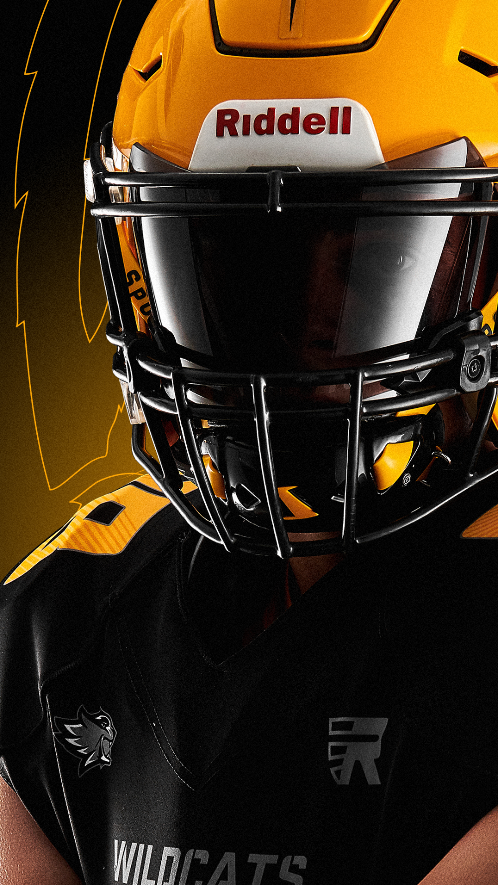 Wildcats On Behance In 2020 Wild Cats Sports Design Football