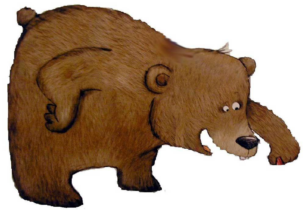Pingl par cole chantefleurs sur la moufle sculpture - Dessin d un ours ...