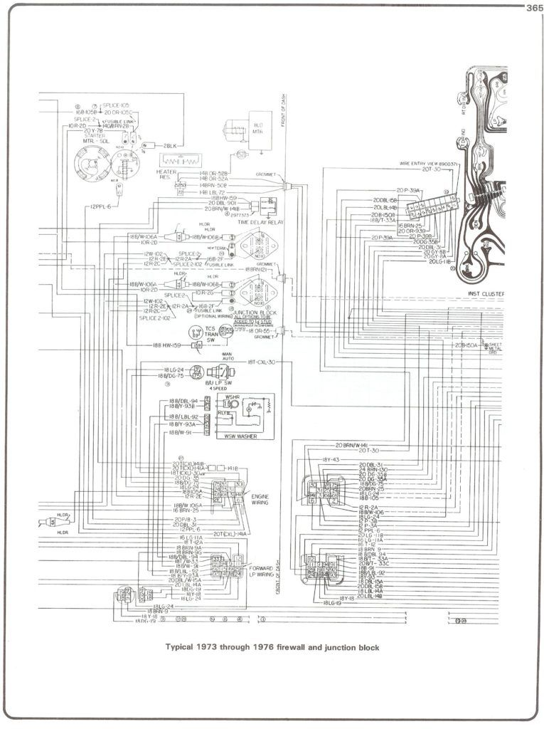 73 76 Firewall Junct In 78 Chevy Truck Wiring Diagram