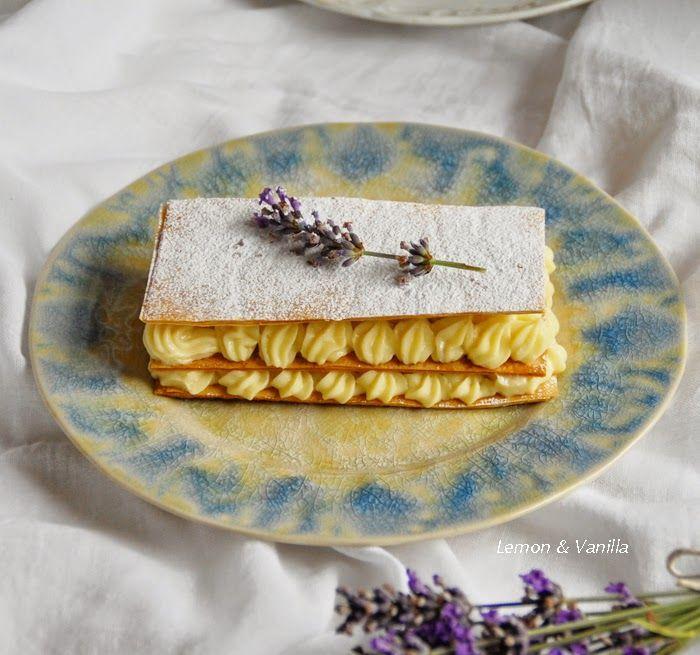 Lavender mille feuille